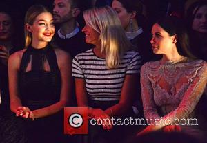 Gigi Hadid, Lena Gercke , Mandy Capristo - Celebrities are attending the Maybelline Show at Berlin Fashion Week at Berlin...