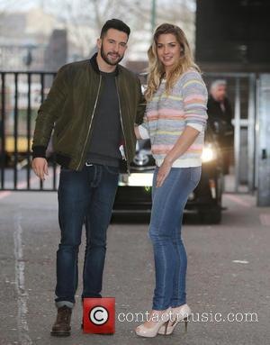 Gemma Atkinson and Michael Parr