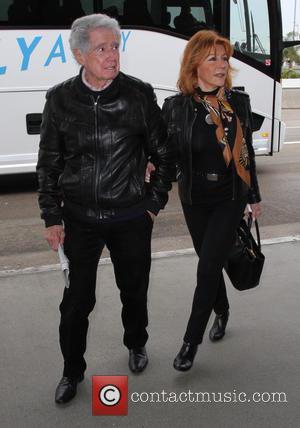 Regis Philbin and Joy Philbin