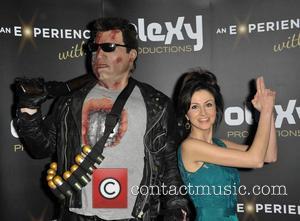 Terminator and Farah Bradford (tv Presenter)