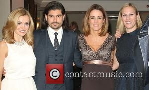 Katherine Jenkins, Natalie Pinkham and Zara Phillips