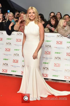 Holly Willoughby - 2016 National Television Awards (NTA) held at the O2 Arena. at National Television Awards - London, United...