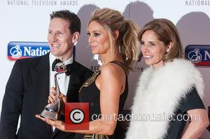 Brendan Cole, Tess Daly and Darcy Bussell