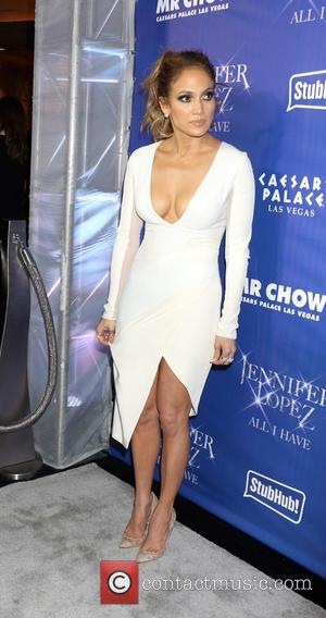 Jennifer Lopez - 'JENNIFER LOPEZ: ALL I HAVE' After Party and Grand Opening of Mr. Chow inside Caesars Palace in...