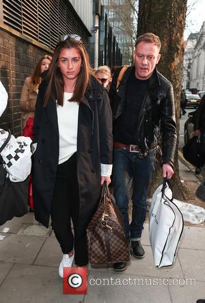 Brooke Vincent and Antony Cotton