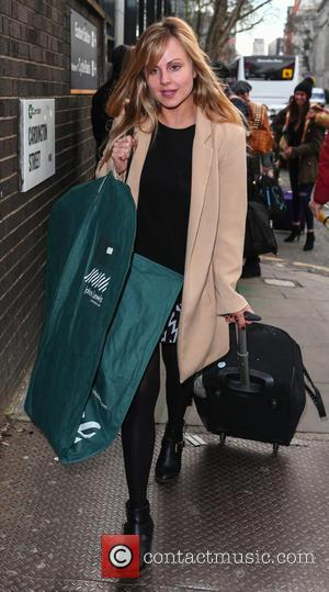 Tina O'Brien - The Coronation Street cast arrive at Euston for the National Television Awards at National Television Awards -...