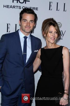 Ian Harding, Elle, Editor In Chief and Robbie Myers