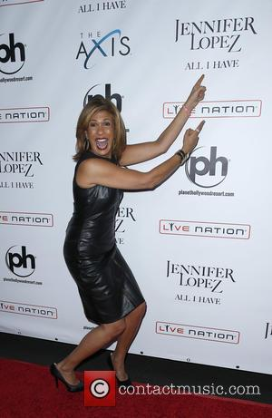 Hoda Kotb - Jennifer Lopez: All I Have at The AXIS at Planet Hollywood Resort & Casino at Planet Hollywood...