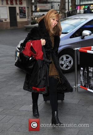 Kate Garraway - Kate Garraway arrives at Global House - London, United Kingdom - Wednesday 20th January 2016