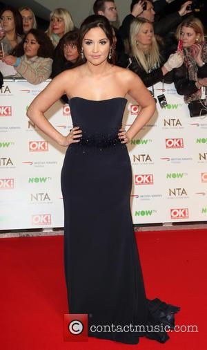 Jacqueline Jossa - National Television Awards 2016 - Red Carpet - at the O2, London at O2 Arena, National Television...