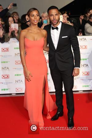 Rochelle Humes, Rochelle Wiseman and Marvin Humes