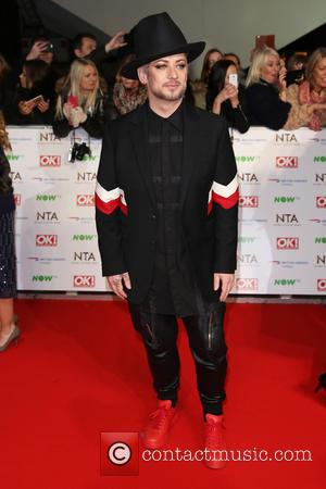 Boy George - The National Television Awards 2016 (NTA's) held at the O2 Arena - Arrivals at The National Television...