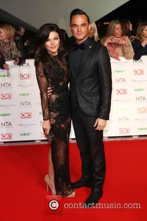 Gareth Gates and Faye Brookes