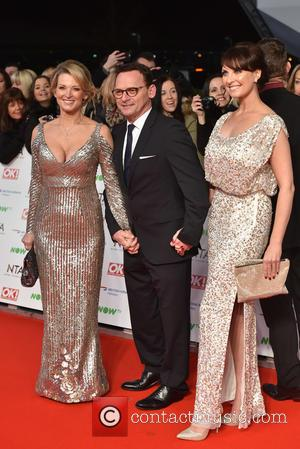 Gillian Taylforth, Perry Fenwick and Emma Barton