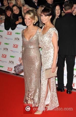 Gillian Taylforth and Emma Barton