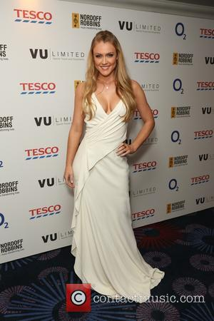 Camilla Kerslake - Guests attend Nordoff Robbins Six Nations Rugby Dinner at Grosvenor House - London, United Kingdom - Wednesday...