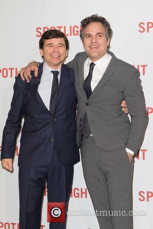 Mark Ruffalo and Mike Rezendes