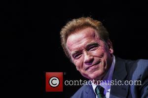Arnold Schwarzenegger In Cycling Mishap