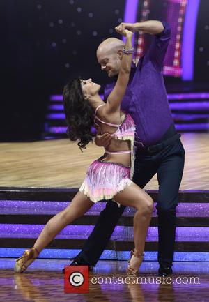 Jake Wood and Janette Manrara