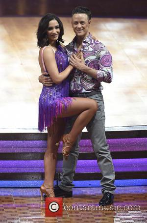 Frankie Bridge , Kevin Clifton - Strictly Come Dancing Live Tour 2016 Photocall at the Barclaycard Arena at Strictly Come...