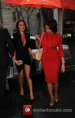 Danielle Lloyd and Amy Childs
