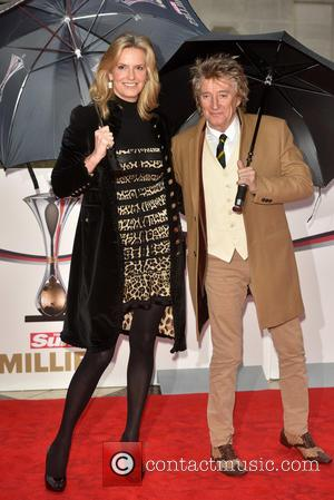 Rod Stewart Doesn't Think His Wife Needs A Boob Job