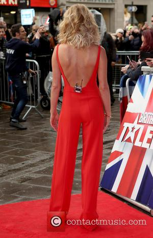 Amanda Holden - Britain's Got Talent Auditions - Arrivals at Britain's Got Talent - London, United Kingdom - Friday 22nd...