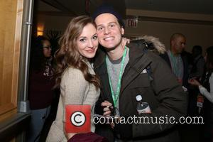 Laura Osnes and Jonathan Groff