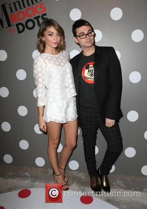 Sarah Hyland and Christian Siriano
