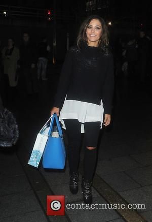 Frankie Bridge - Strictly Come Dancing stars seen arriving back to their hotel after the first live show performance in...