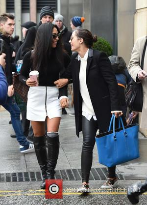 Frankie Bridge , Karen Clifton - Frankie Bridge and Karen Clifton seen heading to Strictly Come Dancing Live Tour at...