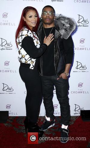 Shantel Jackson and Nelly