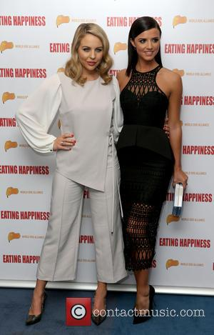 Lucy Mecklenburgh and Lydia Rose Bright