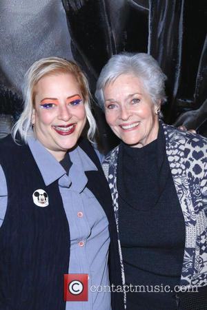 Sky Palkowitz and Lee Meriwether