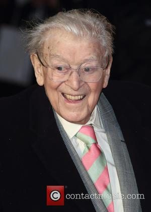 Jimmy Perry at Odeon, Leicester Square