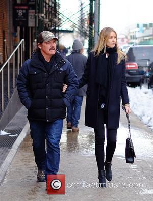 Josh Brolin , Kathryn Boyd - Josh Brolin and Kathryn Boyd out in Tribeca - Manhattan, New York, United States...