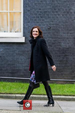 Theresa Villiers Mp and Secretary Of State For Northern Ireland at Downing Street, Whitehall