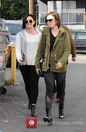 Lily Collins and Demi Lovato