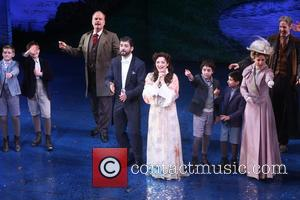 Kelsey Grammer, Tony Yazbeck and Laura Michelle Kelly