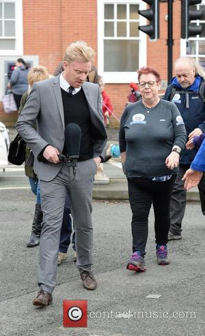 Jo Brand and Bill Bailey
