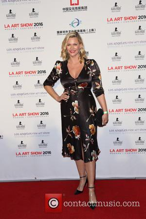 Natasha Henstridge - LA Art Show And Los Angeles Fine Art Show's 2016 Opening Night Premiere Party Benefiting St. Jude...