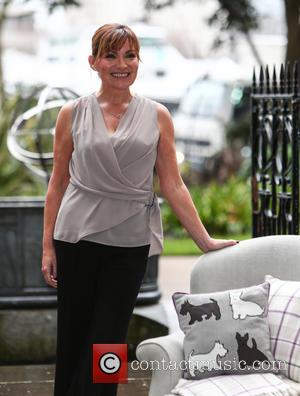 Lorraine Kelly - Lorraine Kelly presents her first homeware collection for JD Williams at the Savoy Hotel in central London...