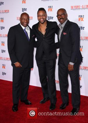 John Singleton, Cuba Gooding Jr. and Courtney B. Vance