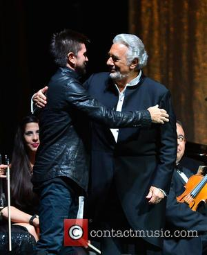 Juanes and Placido Domingo