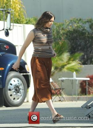 Mandy Moore - Moore dons 70s attire on the set of the a Dan Fogelman project filming in Pasadena -...