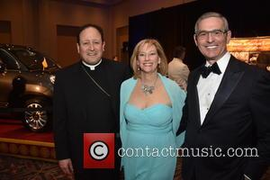 Pope Francis, Bishop John J. Mcintyre, Donna Crilley Farrell and Bob Ciaruffoli