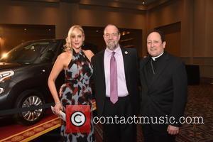 Pope Francis, Kate Chapman, Michael Chapman and Bishop John J. Mcintyre