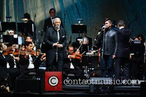Placido Domingo and Juanes