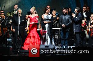 Placido Domingo, Micaela Oeste, Virginia Tola, Juanes and Eugene Kohn