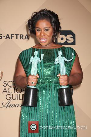 Uzo Aduba - 22nd Annual Screen Actors Guild Awards at The Shrine Expo Hall - Press Room at Shrine Auditorium,...